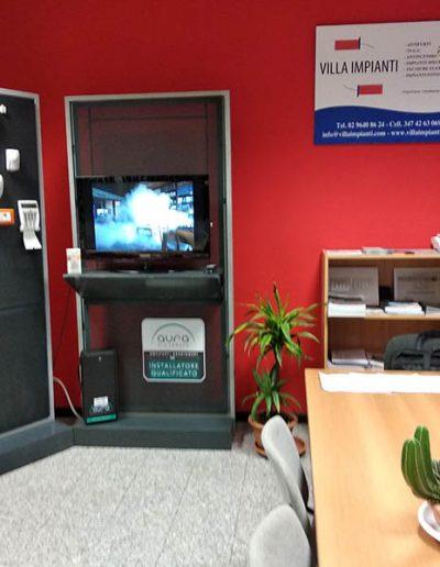 villa impianti foto show room 3