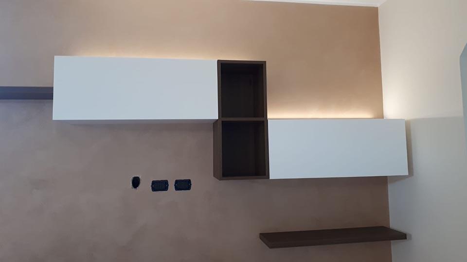 Installazione luci led a Cardano al Campo Varese
