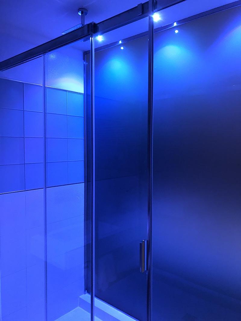 Illuminazione a led doccia a Galiate Lombardo Varese
