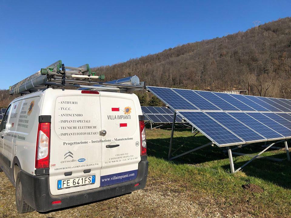villa impianti installazione impianti fotovoltaici