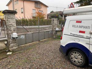 Cancello automatico nuovo Castiglione Olona
