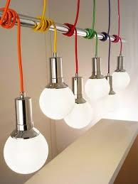 impianto elettrico a vista lampade