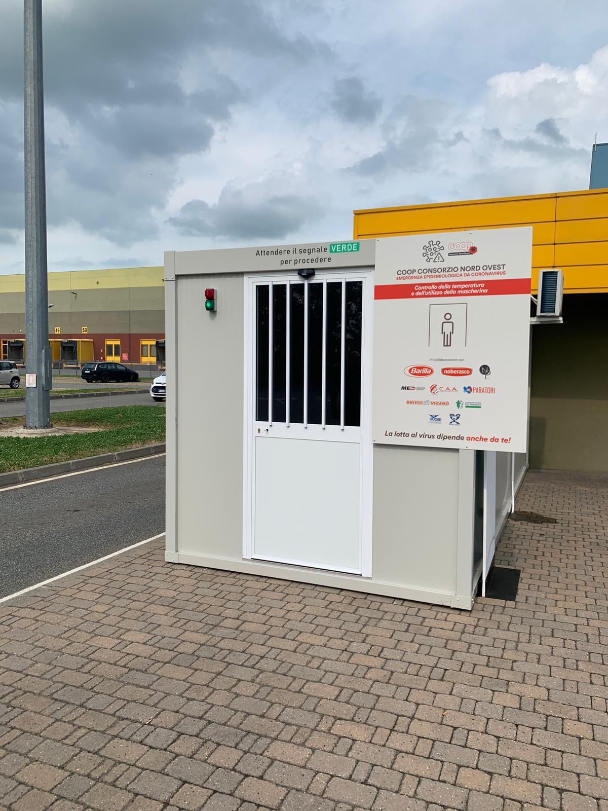 sistemi di automazione della gestione degli ingressi di un' azienda logistica a Tortona ( Alessandria)