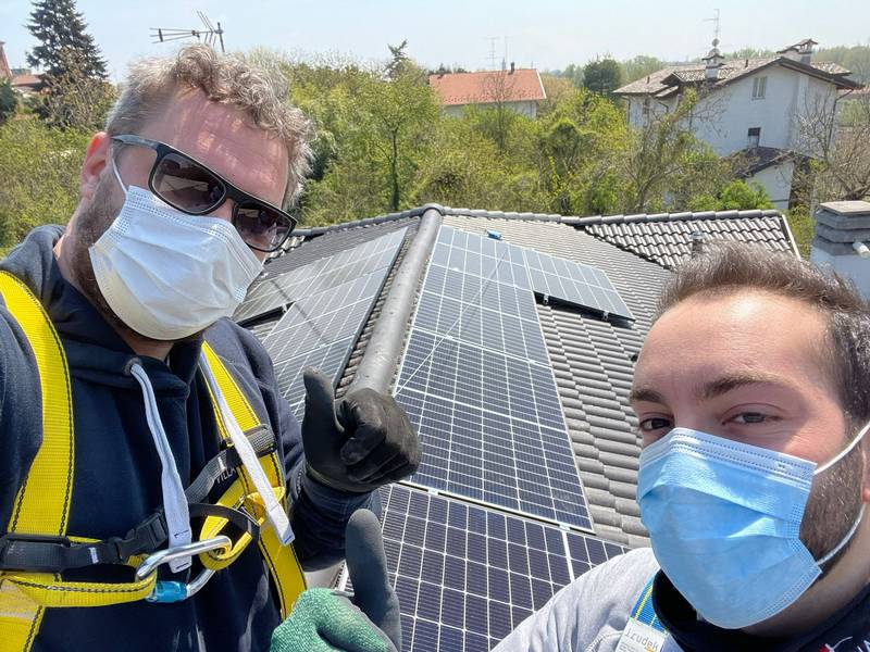 Villa Impianti Fotovoltaico