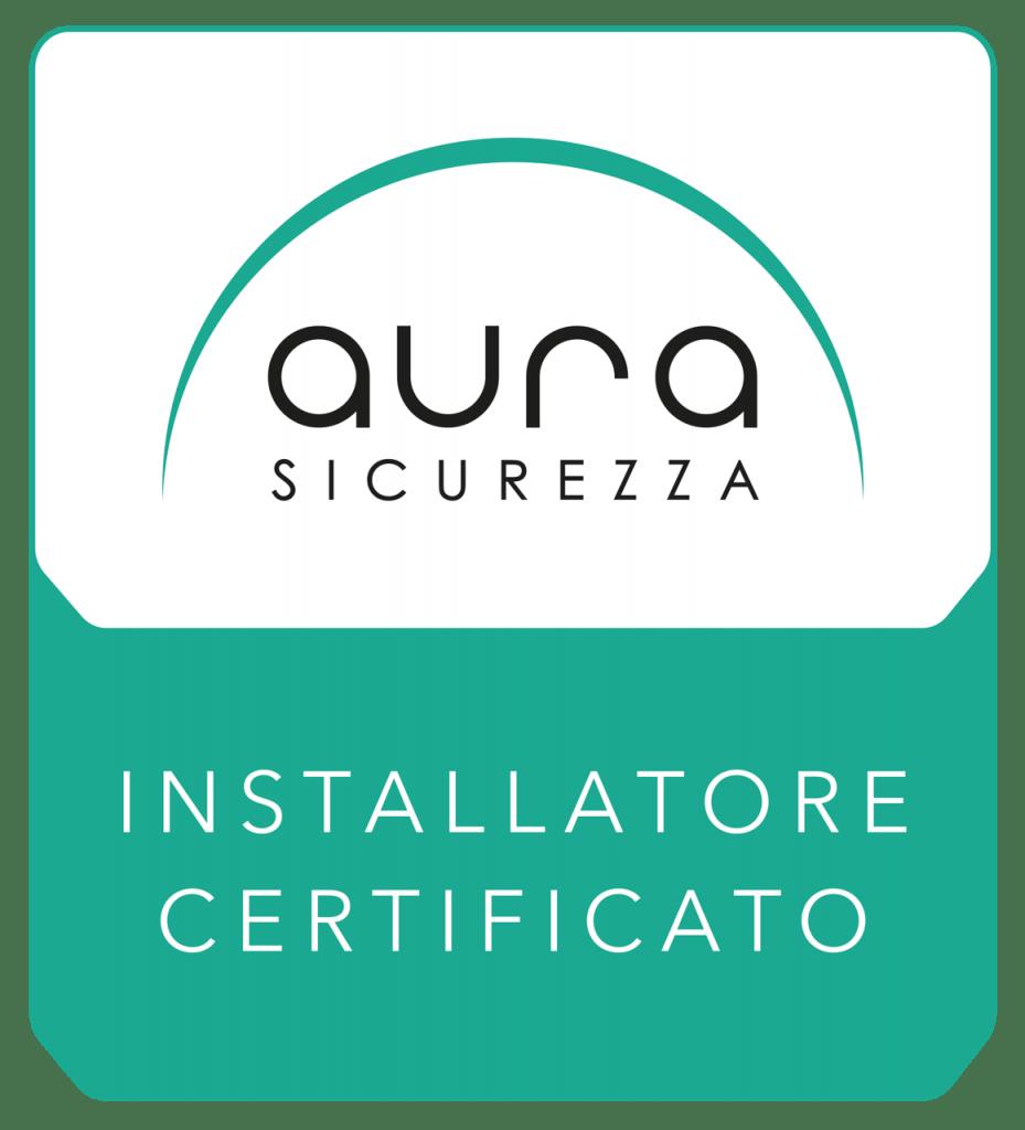 Logo-Aura-Installatore-Certificato- villa impianti